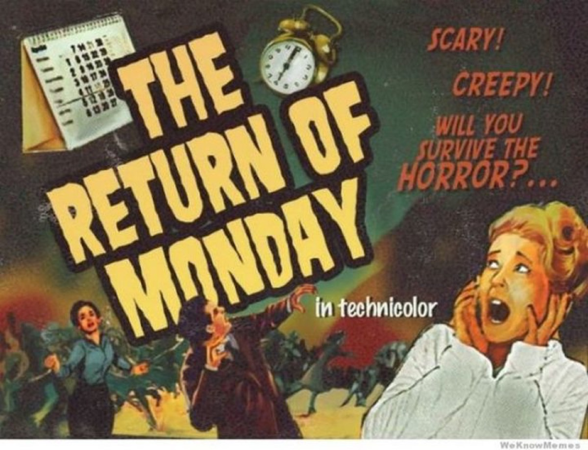 The Return of Monday poster