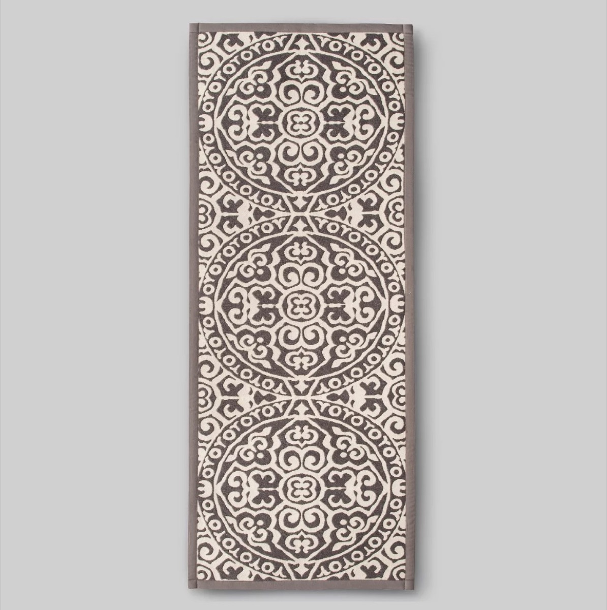 brown and white rug, kitchen decorations