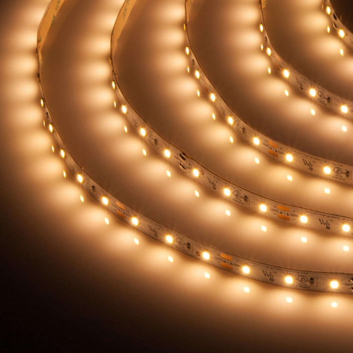 rope lights in a circle, kitchen decorations