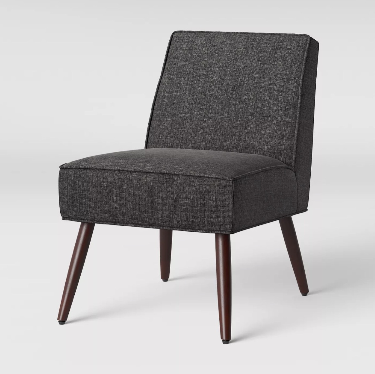 gray chair on white background, target home decor items