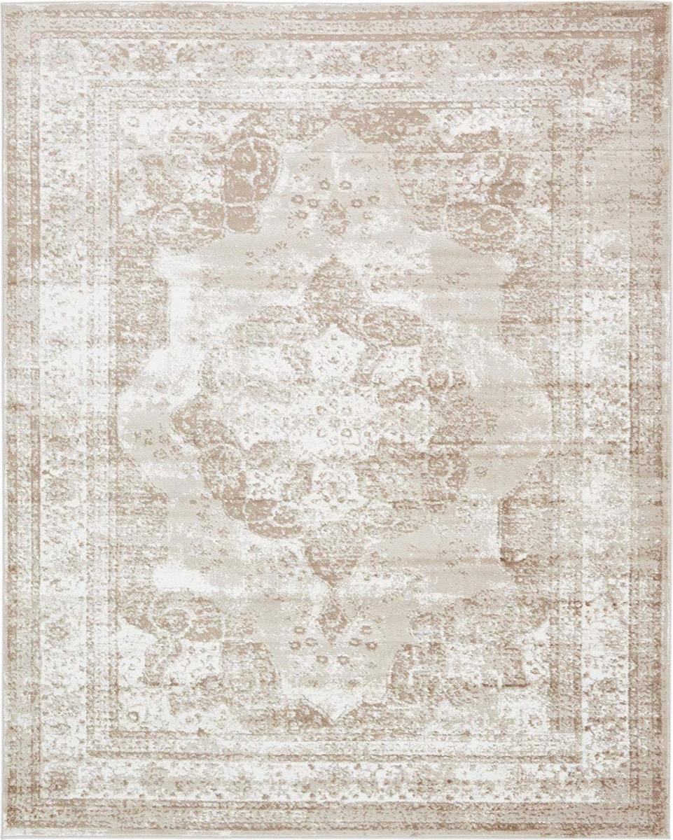 white oriental rug, rustic farmhouse decor