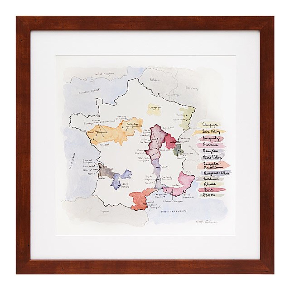 map of france, Kitchen Decorations