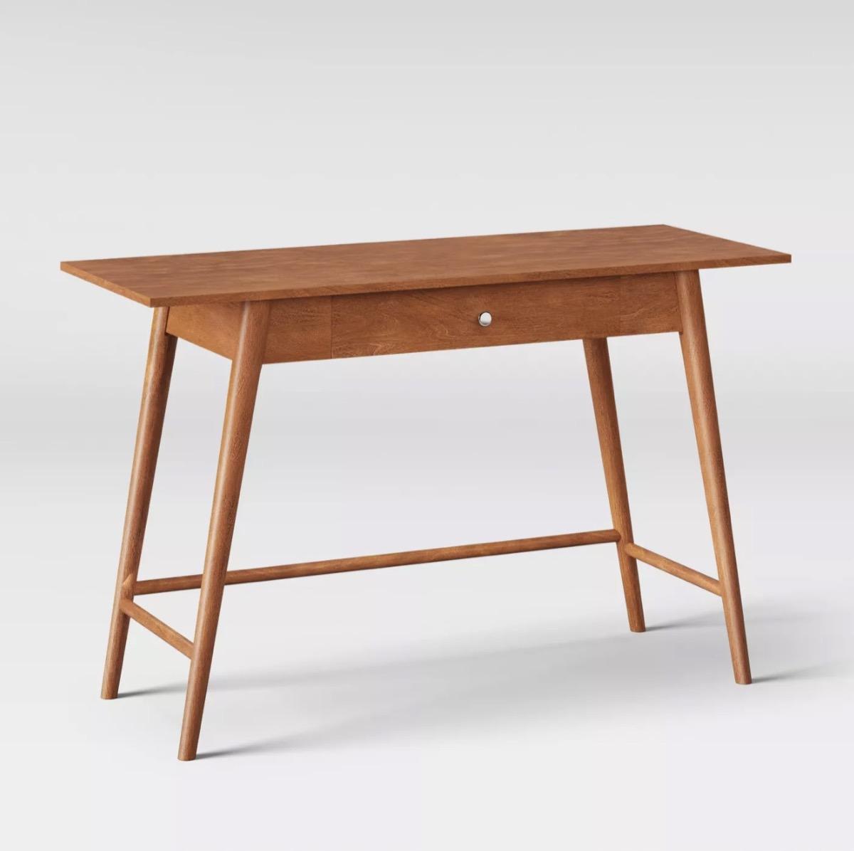 wooden desk, Target home decor items