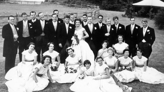 Jackie and JFK's Wedding Party