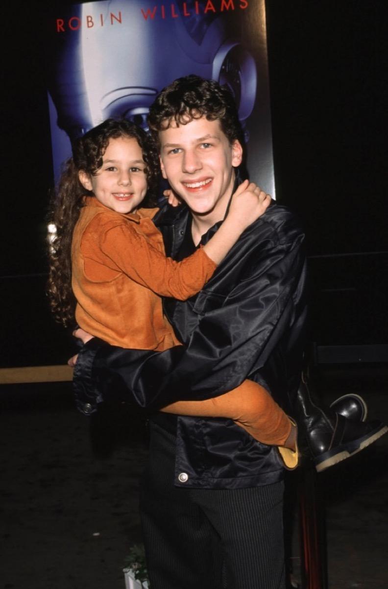 Hallie Eisenberg and Jesse Eisenberg, surprising celebrity siblings