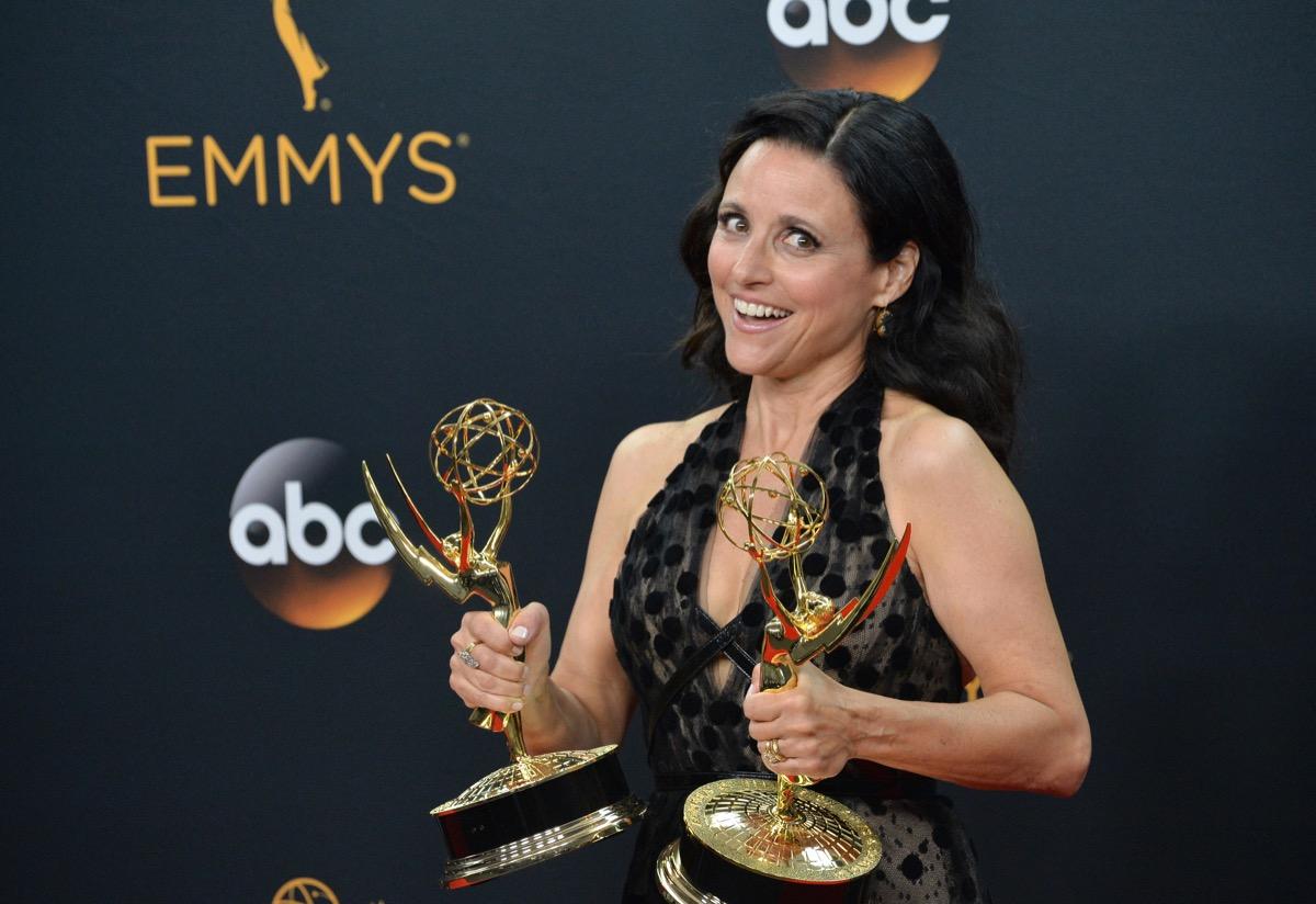 Julia Louis-Dreyfus at the Emmy Awards