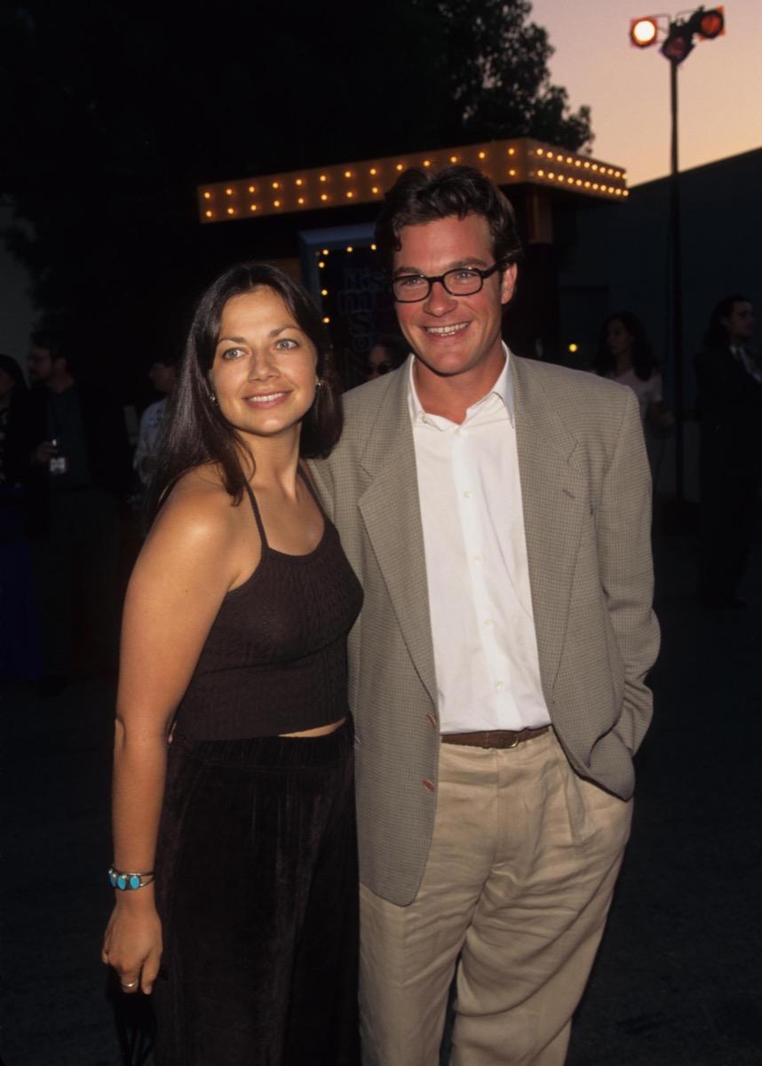 Justine and Jason Bateman