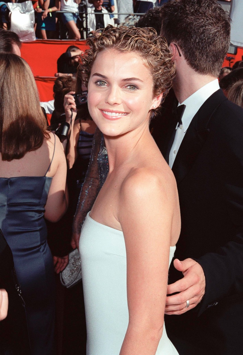 keri russell at the 1999 emmy awards