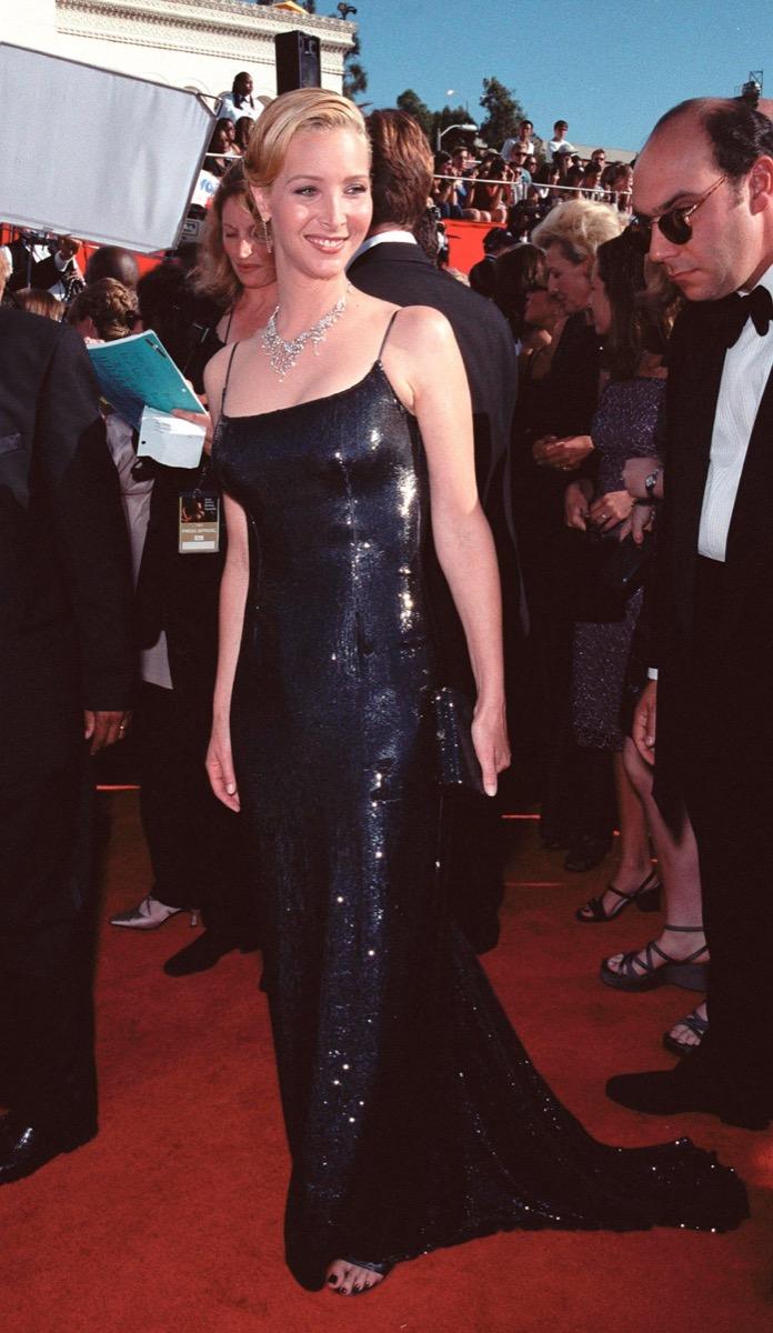 lisa kudrow at the 1999 emmy awards