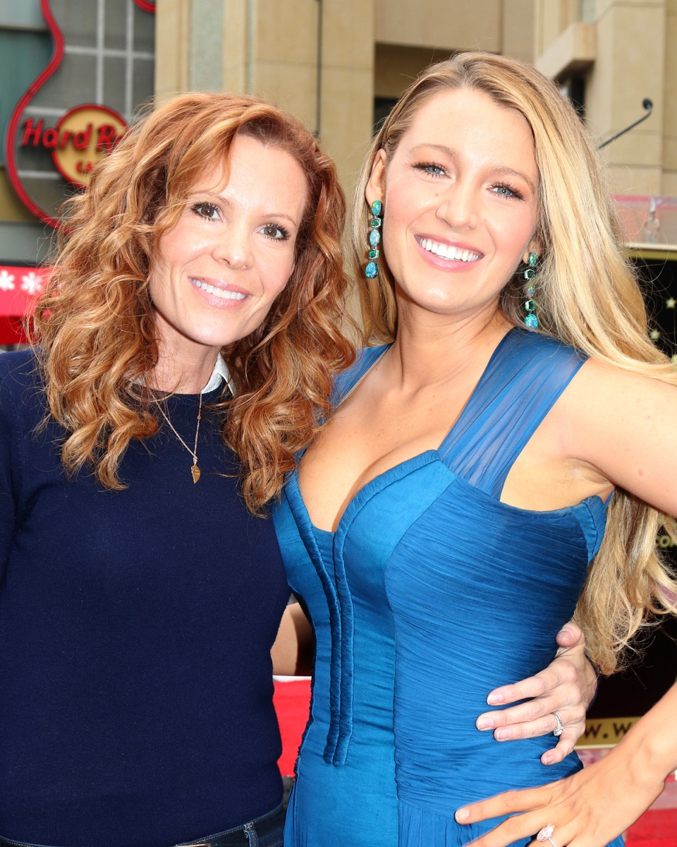 Robin and Blake Lively