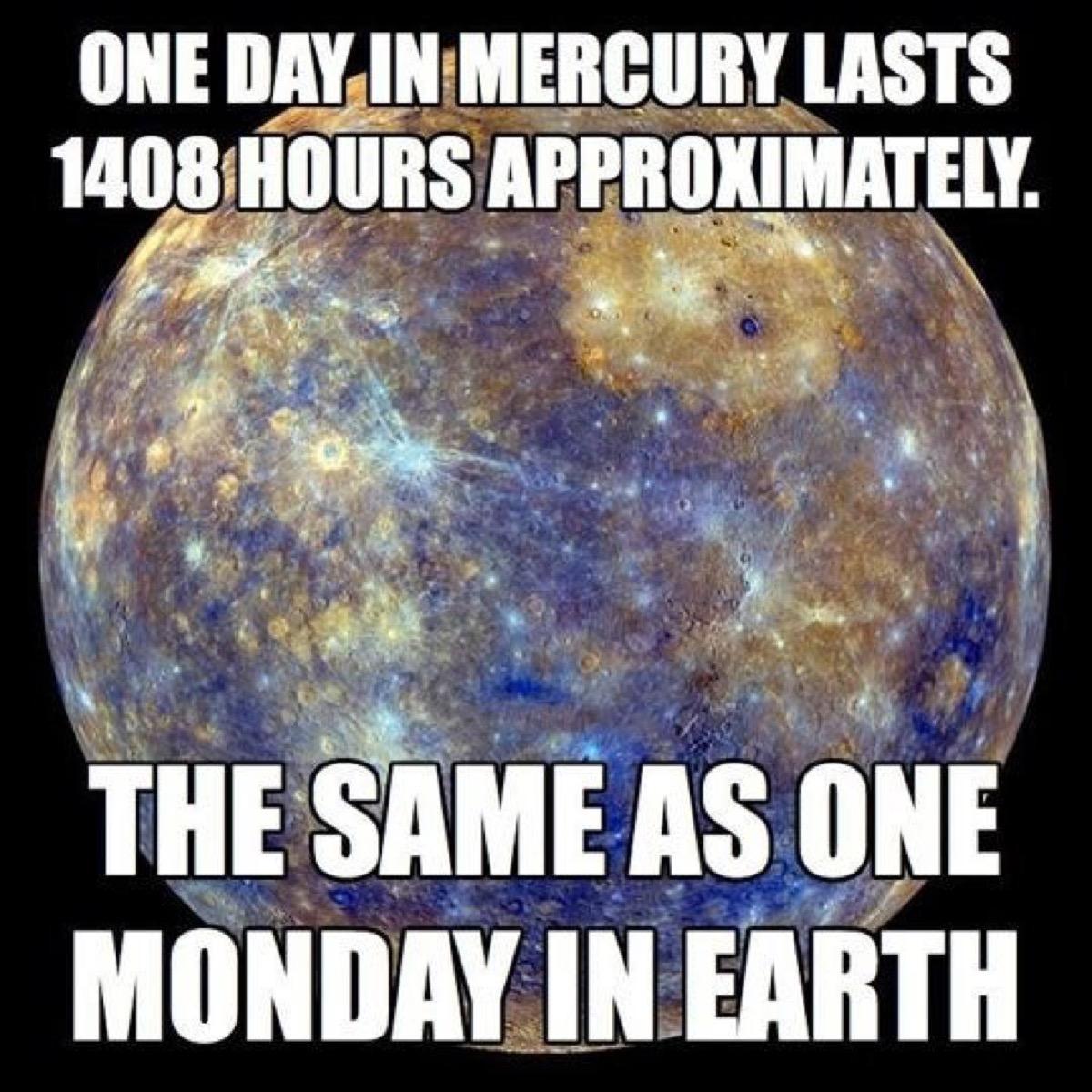 mercury, monday memes