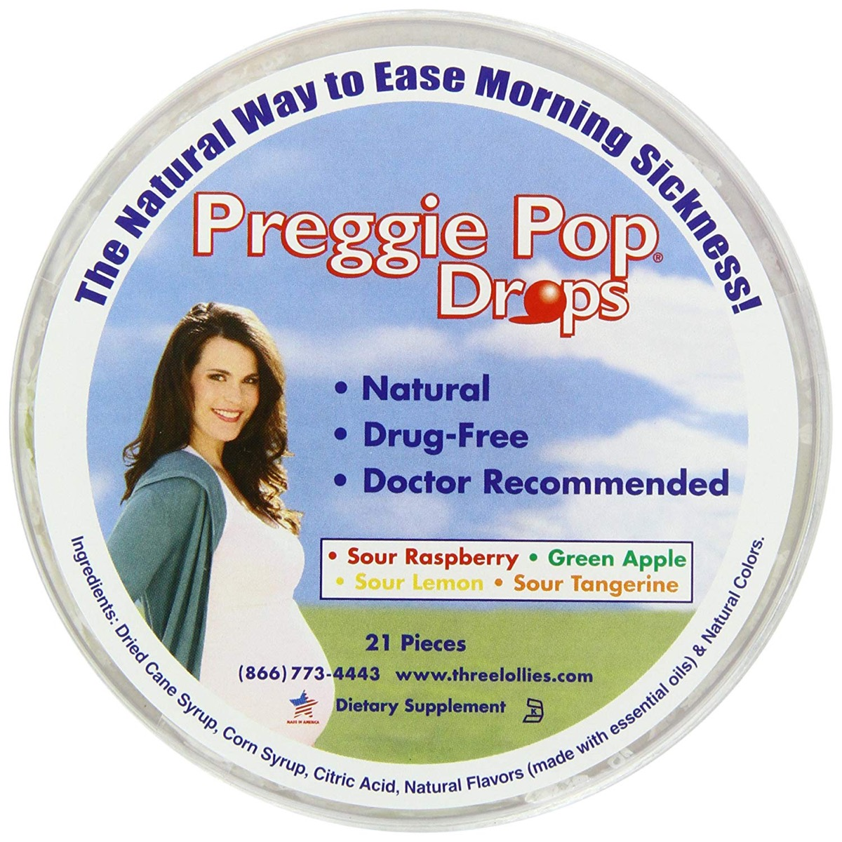 package of preggie pop drops, gifts for pregnant people