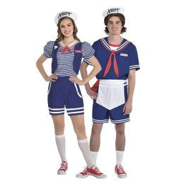 robin and steve from stranger things costumes, halloween costumes 2019