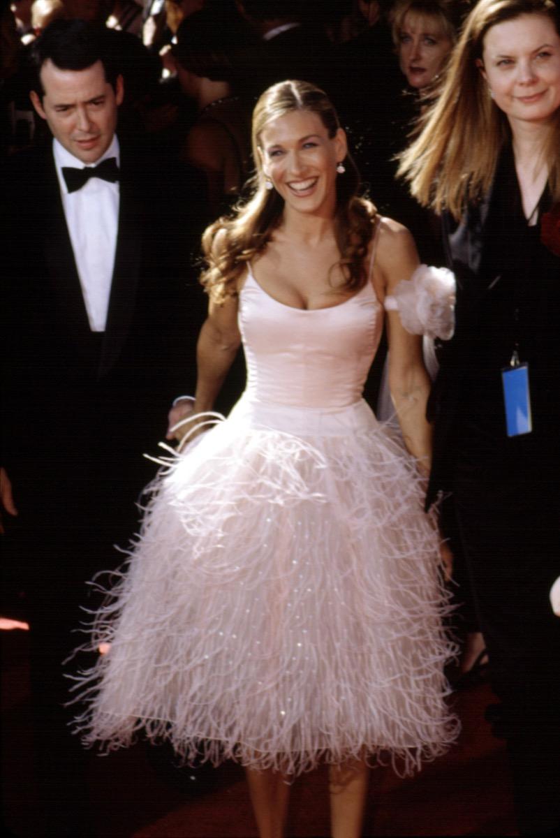 Sarah Jessica Parker at the Emmy Awards