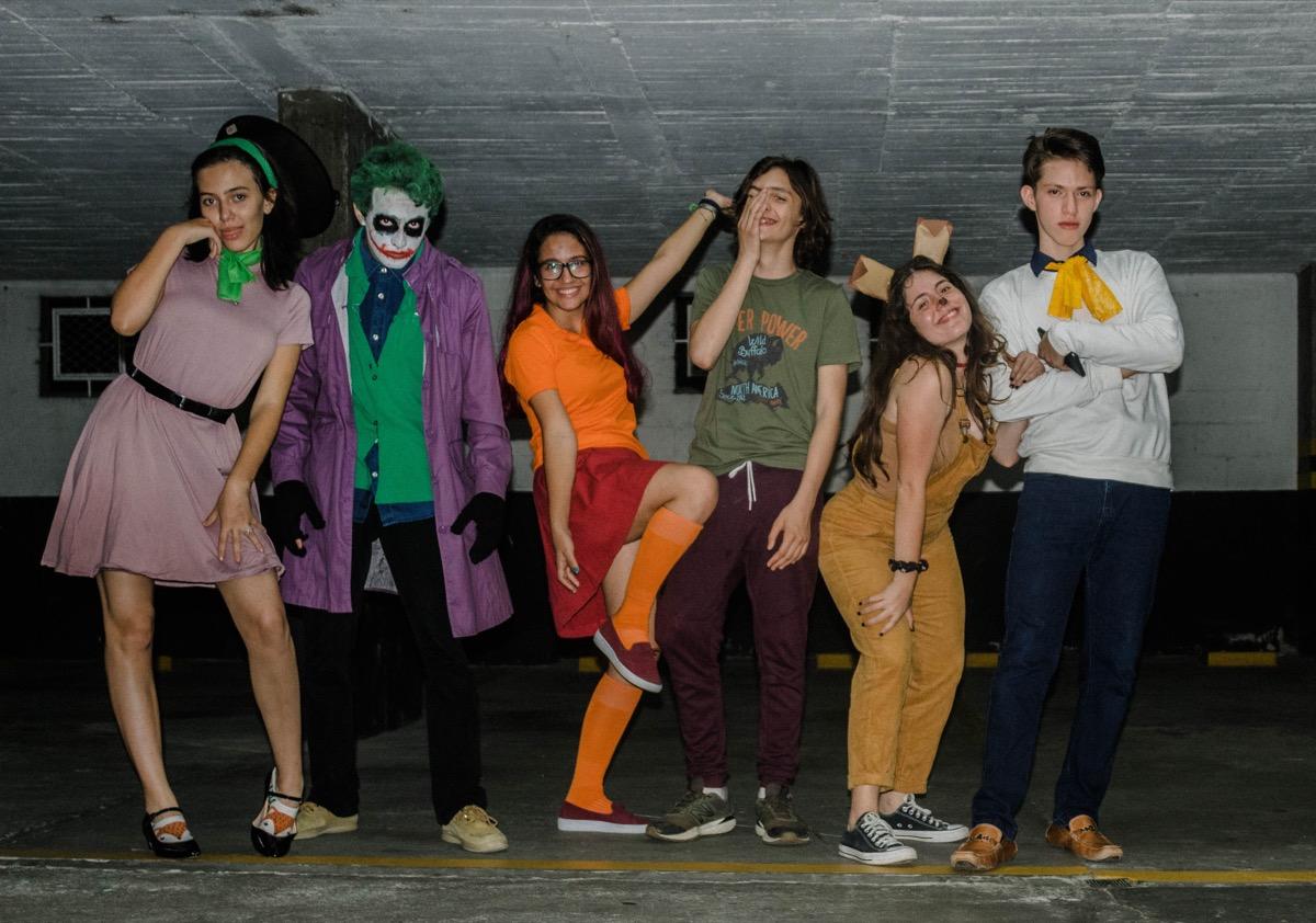 scooby doo gang diy costume