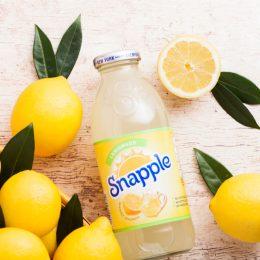 lemon snapple with lemons