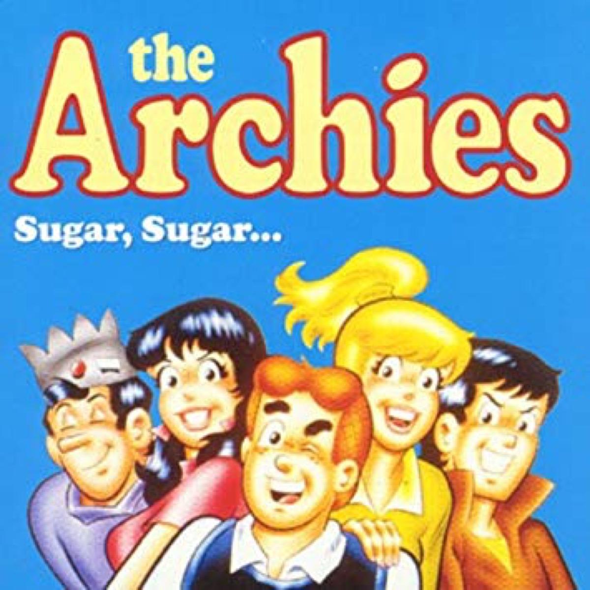 sugar sugar the archies single cover,