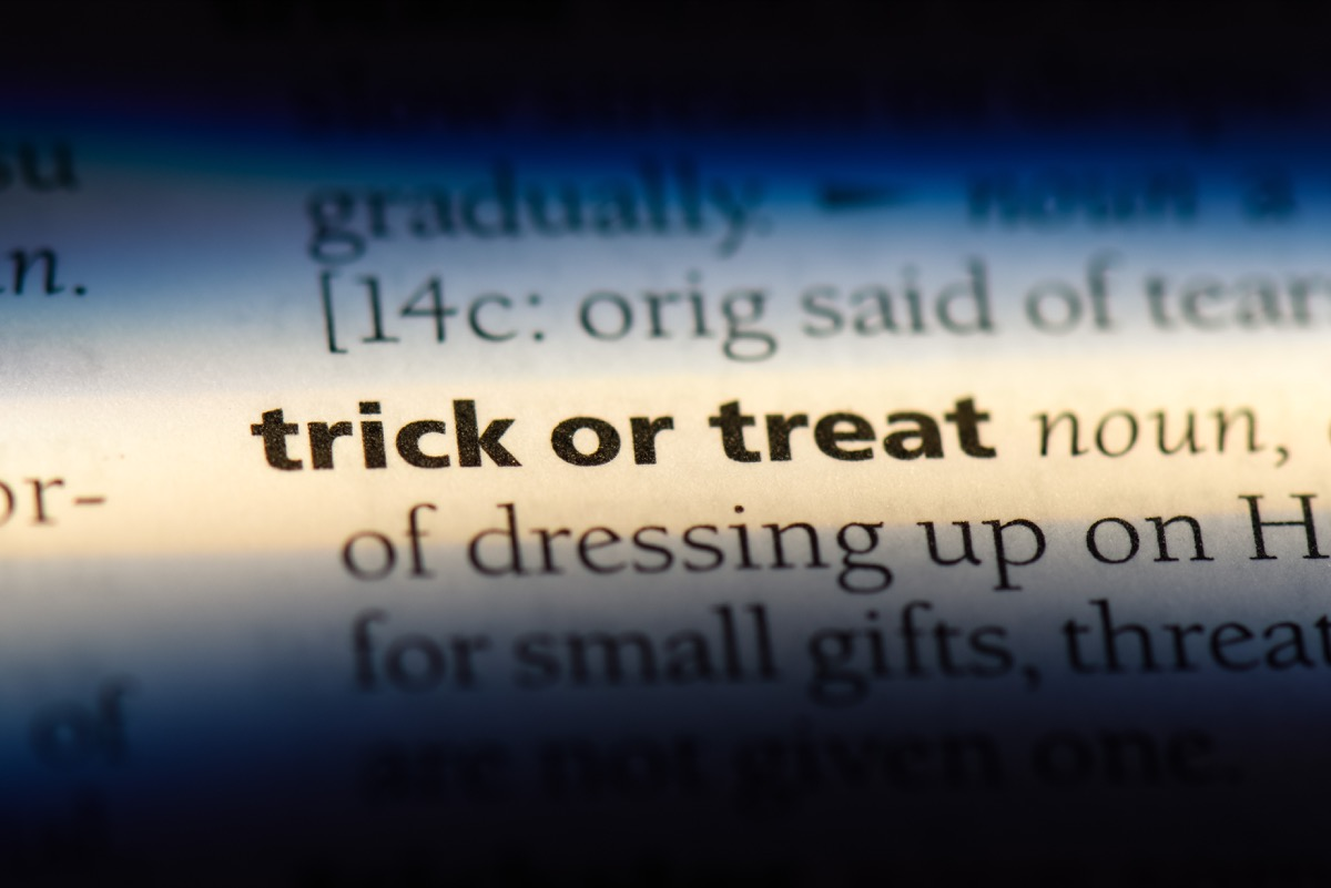 trick or treat definition