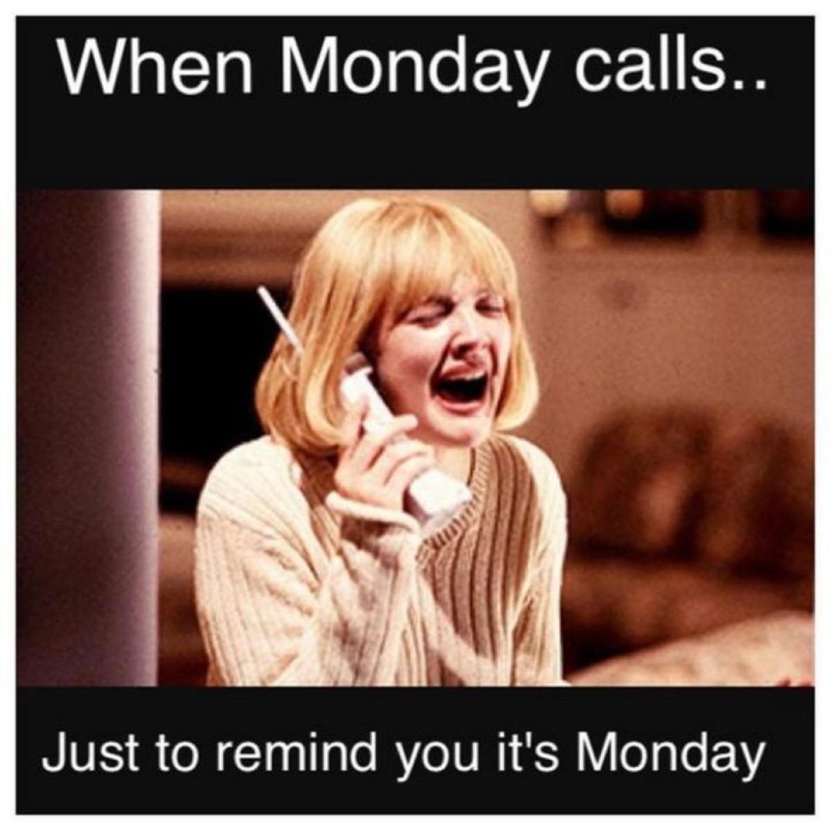 Monday Scream meme