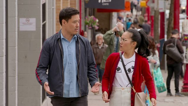 Randall Park and Ali Wong in Always Be My Maybe