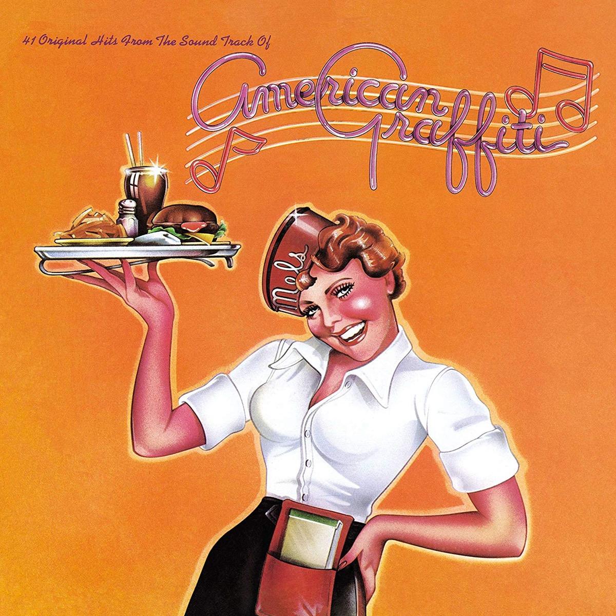 album cover for american grafftti soundtrack