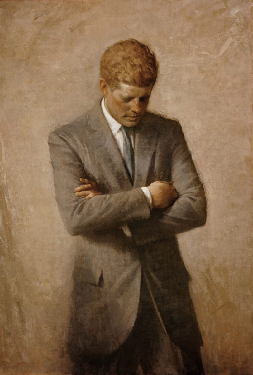 JFK official white house portrait