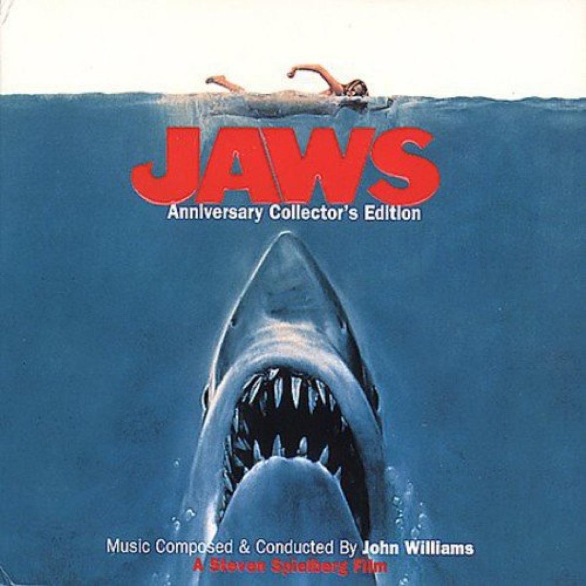 jaws soundtrack album cover