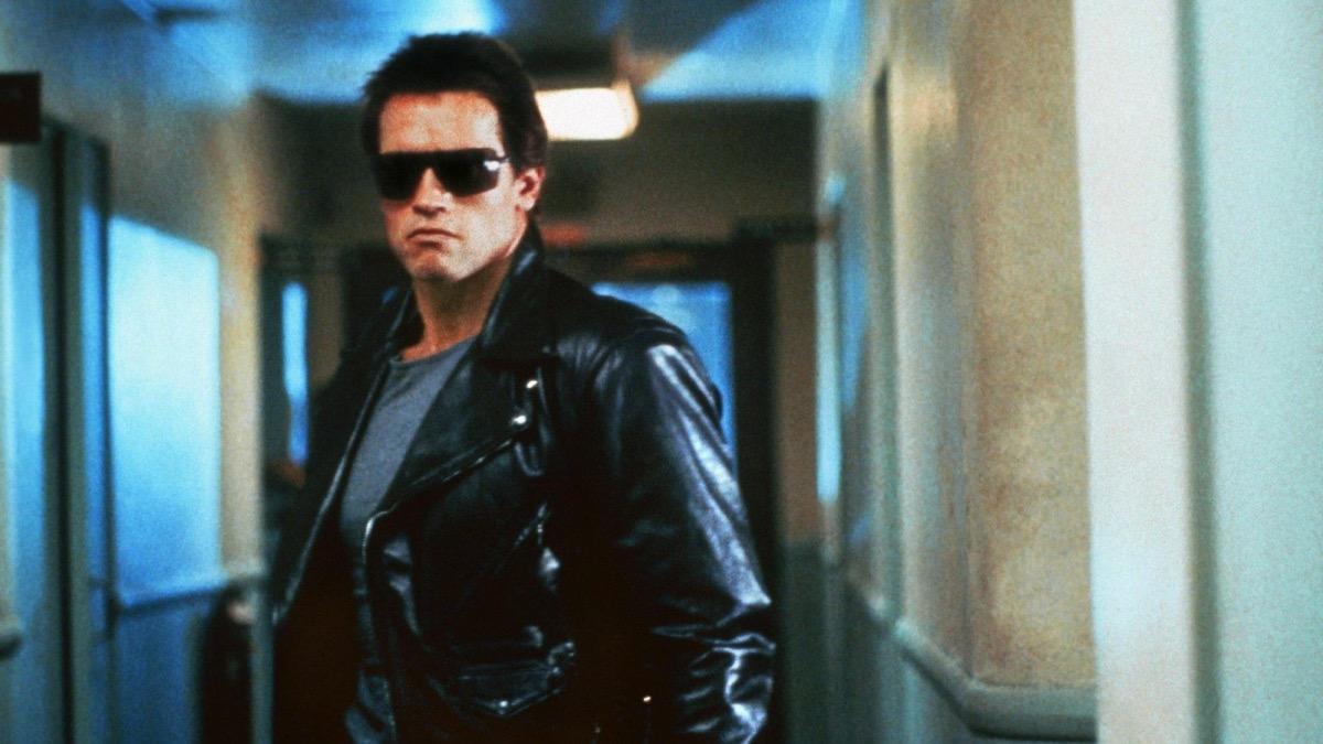 Arnold Schwarzenegger in The Terminator