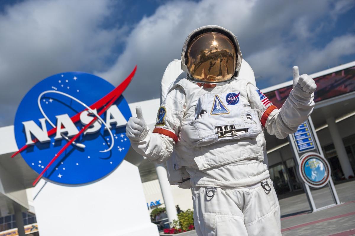 NASA building out front, NASA everyday items