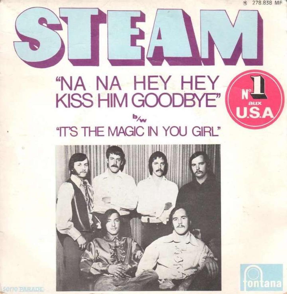 na na hey hey kiss him goodbye, steam record