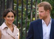 Prince Harry and Meghan Markle attend a creative industries and business reception at the British High Commissioner's residence in Johannesburg, South Africa, on day 10 of their tour of Africa. PA Photo. Picture date: Monday September 23, 2019