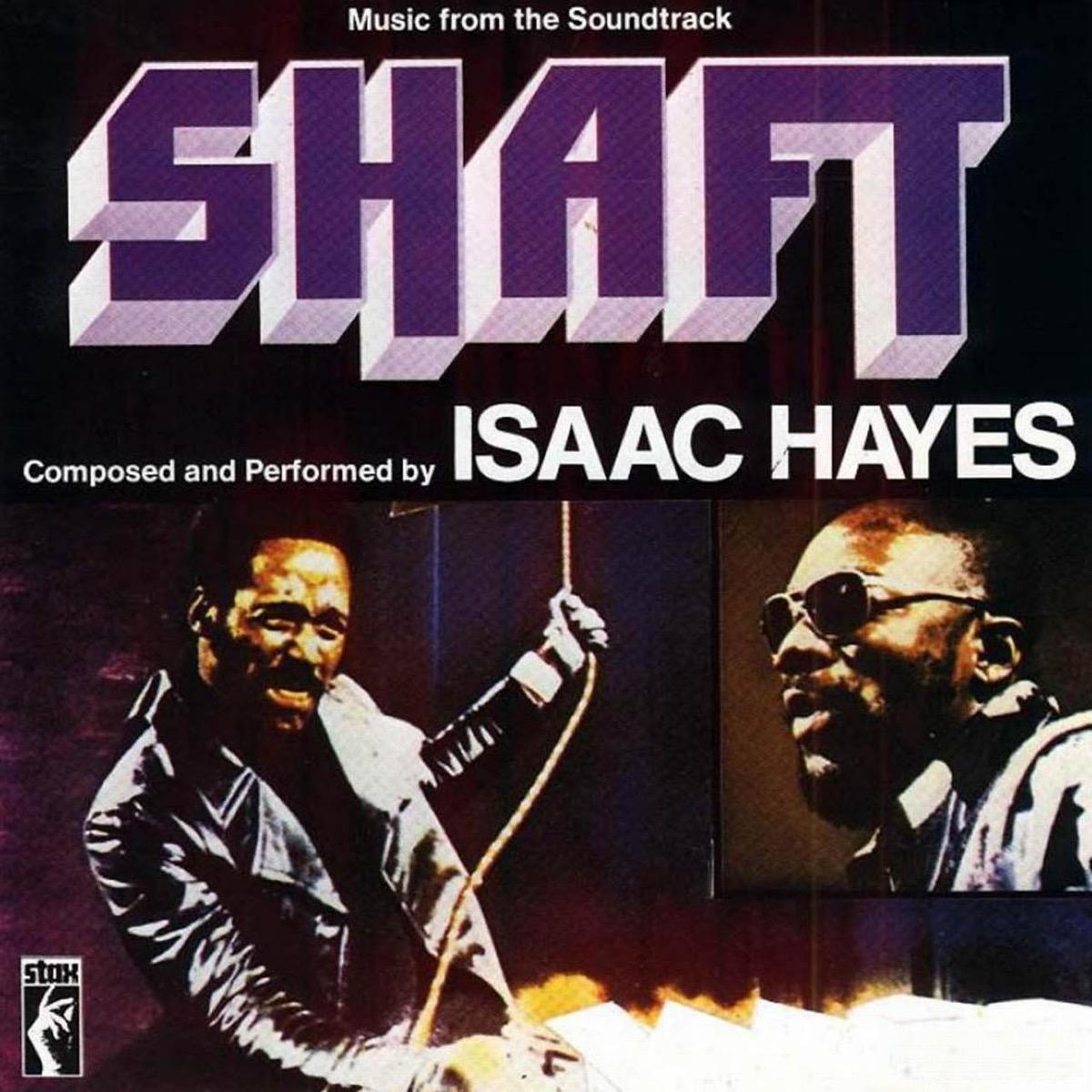 album cover of shaft soundtrack
