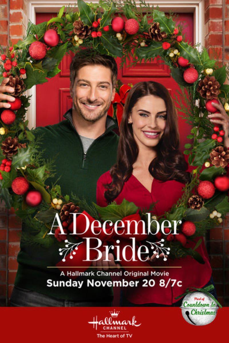 A December Bride Hallmark movie poster