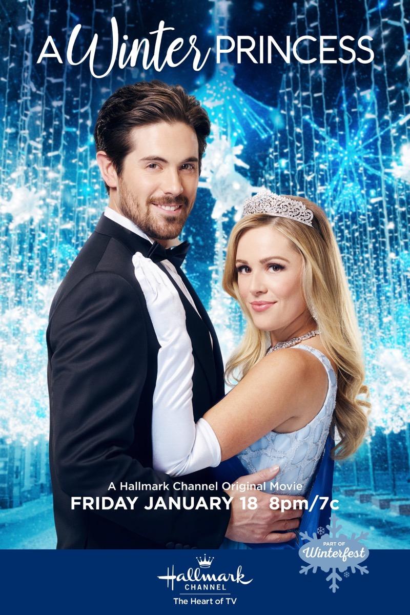 A Winter Princess Hallmark movie
