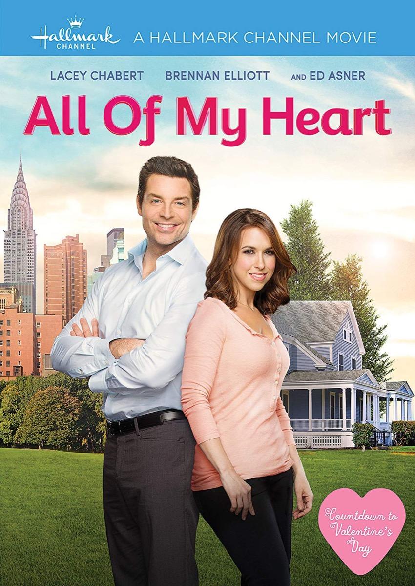 All of My Heart Hallmark movie poster