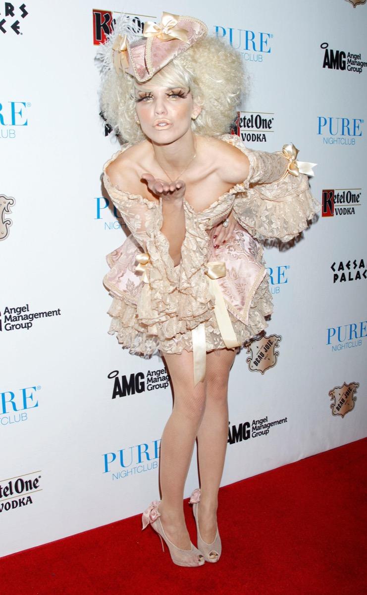 AnnaLynne McCord as Marie Antoinette Celebrity Halloween Costumes