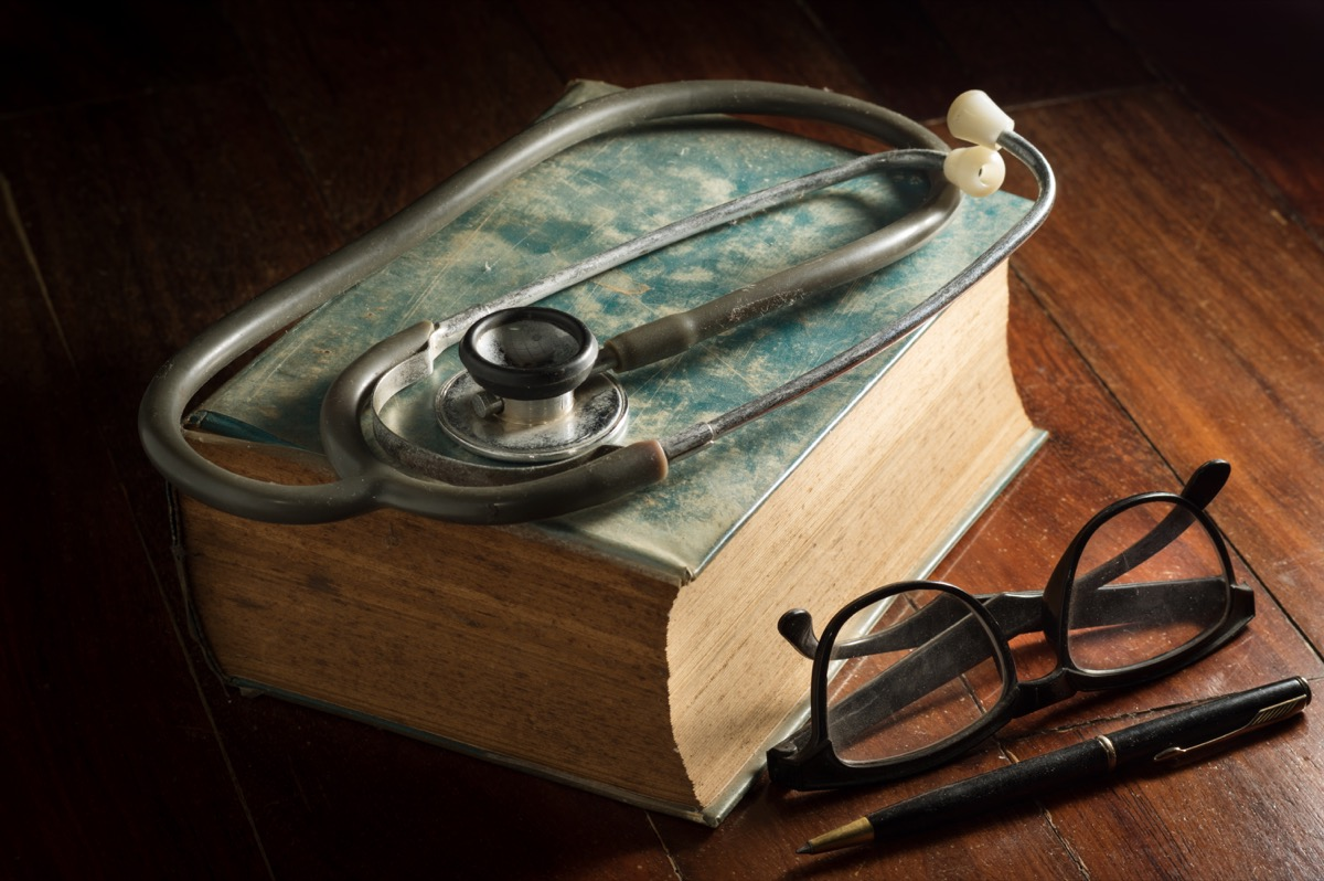 Antique and vintage doctor tools