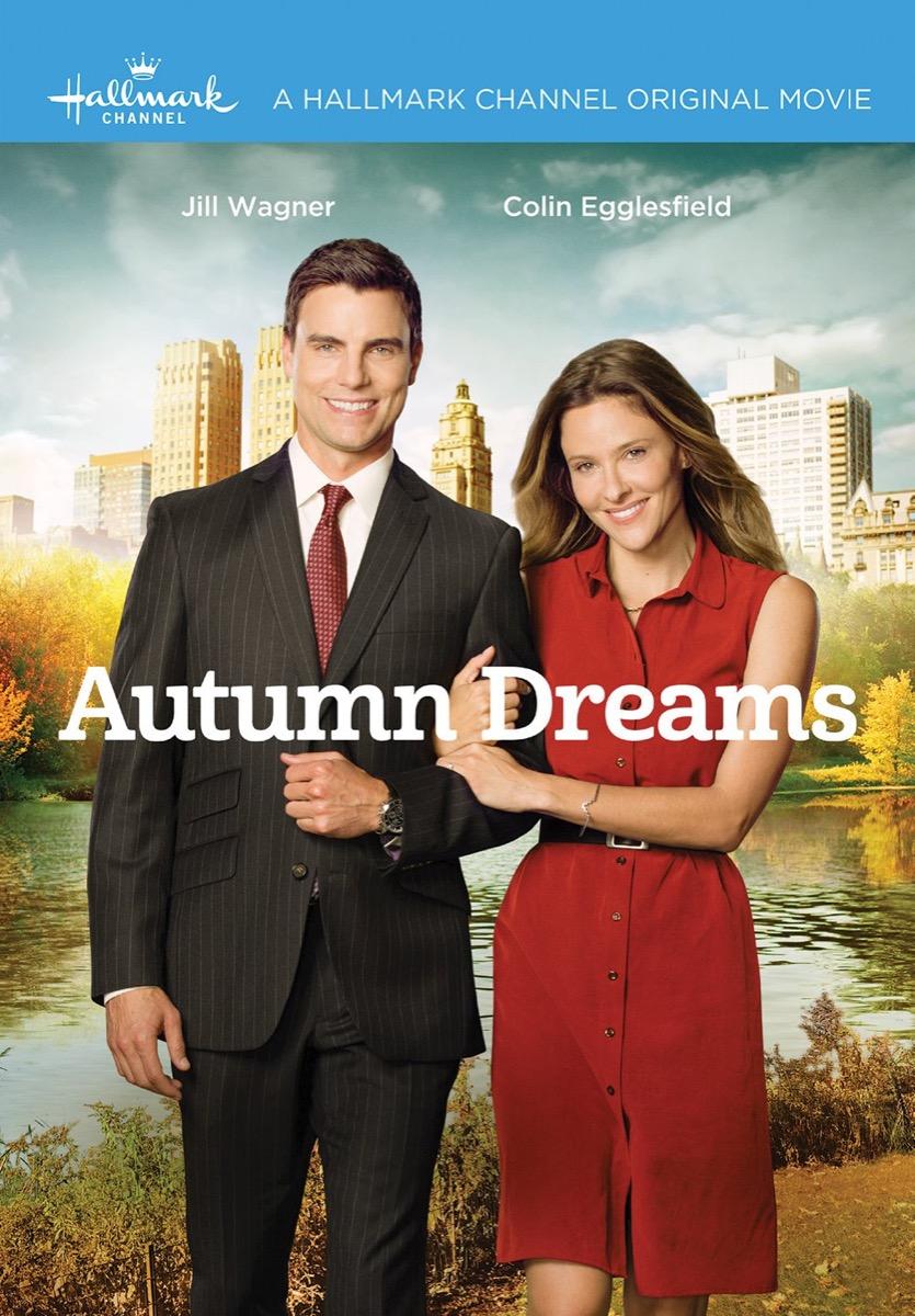 Autumn Dreams Hallmark movie poster
