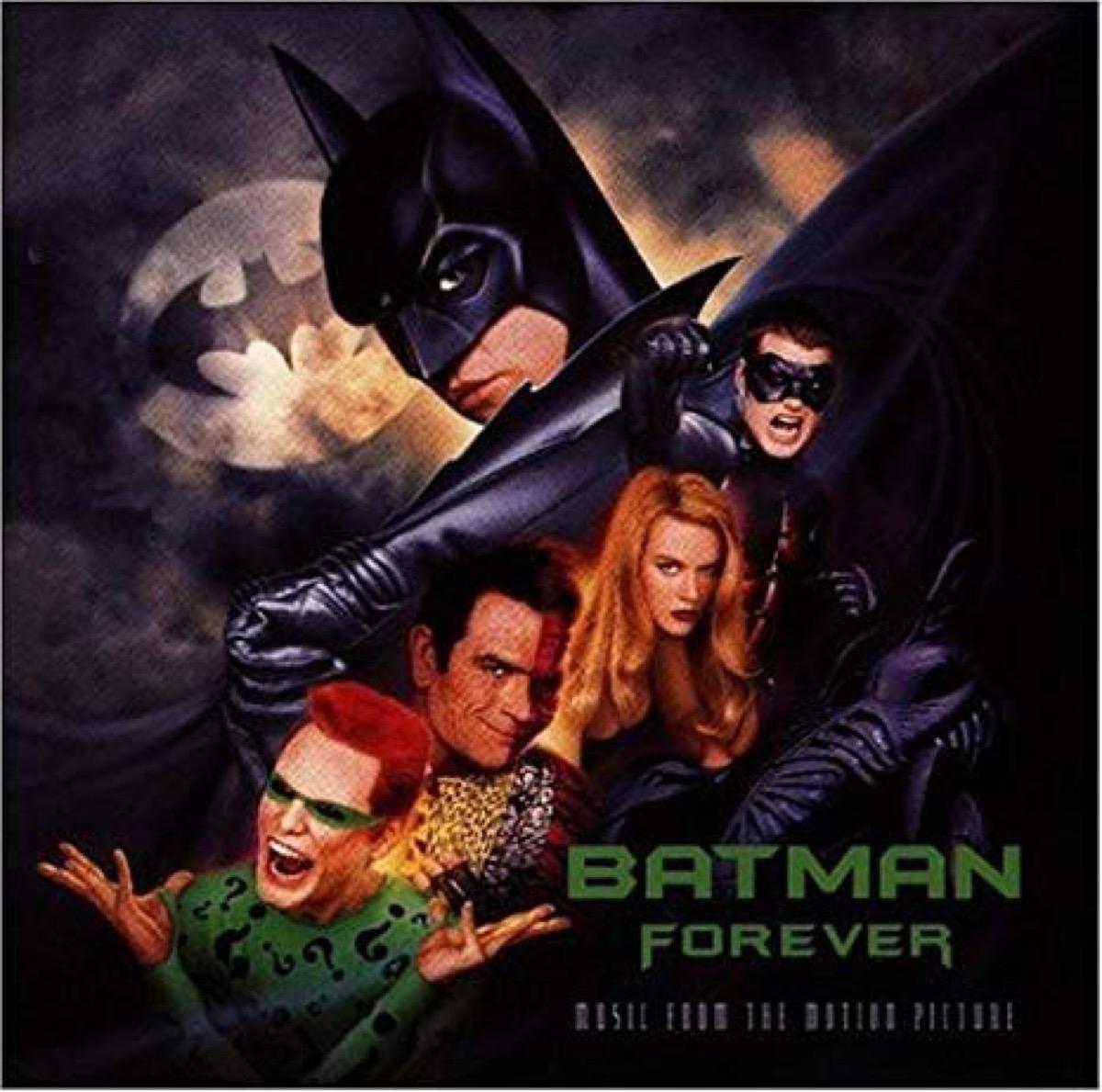 batman forever movie soundtrack album cover
