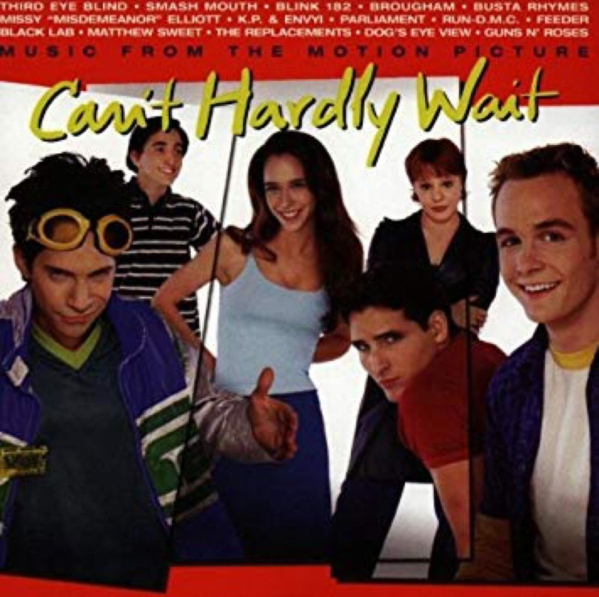 can't hardly wait movie soundtrack album cover