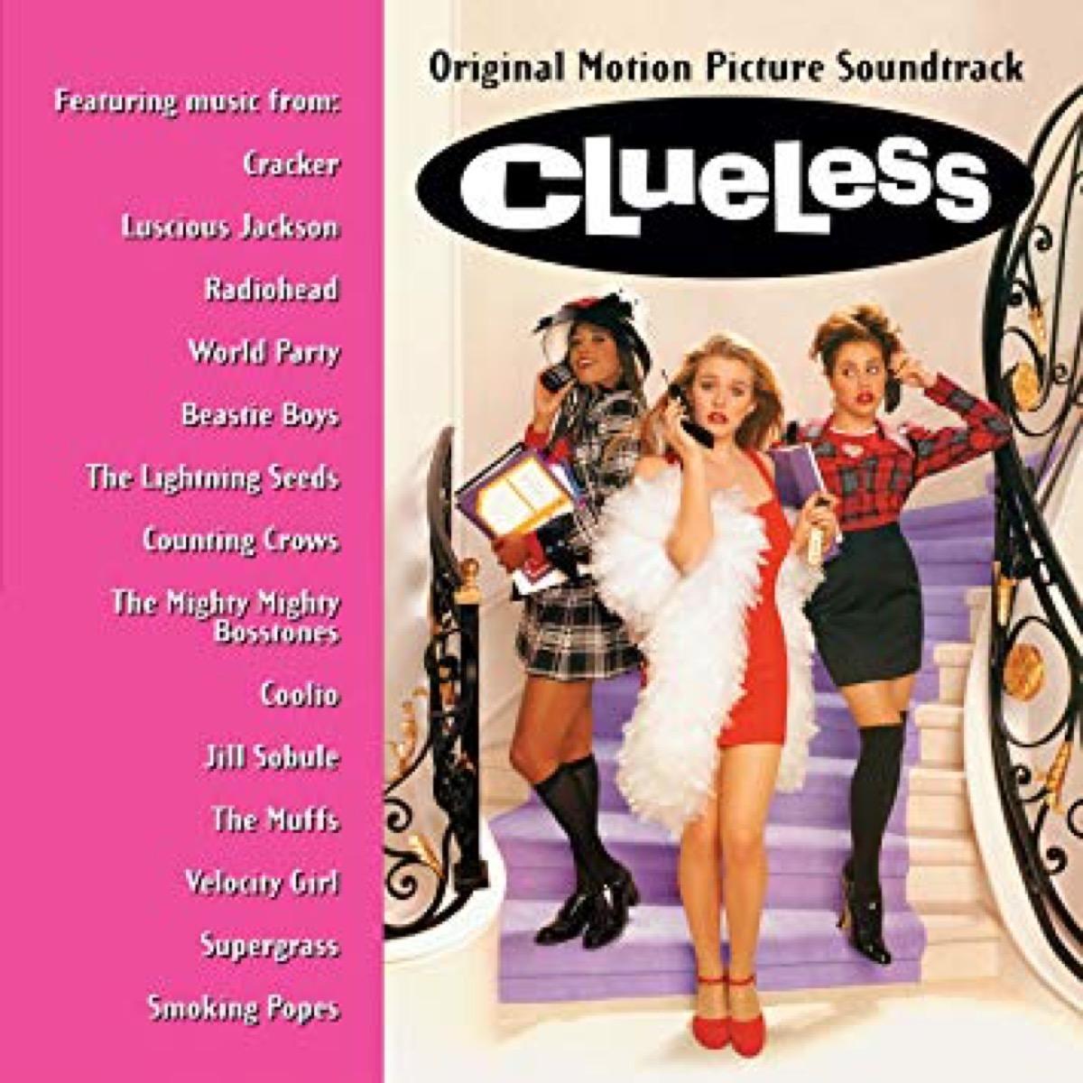 clueless movie soundtrack album cover