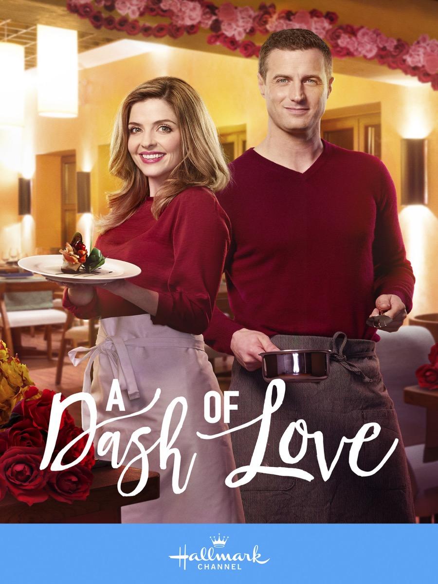 A Dash of Love Hallmark movie poster