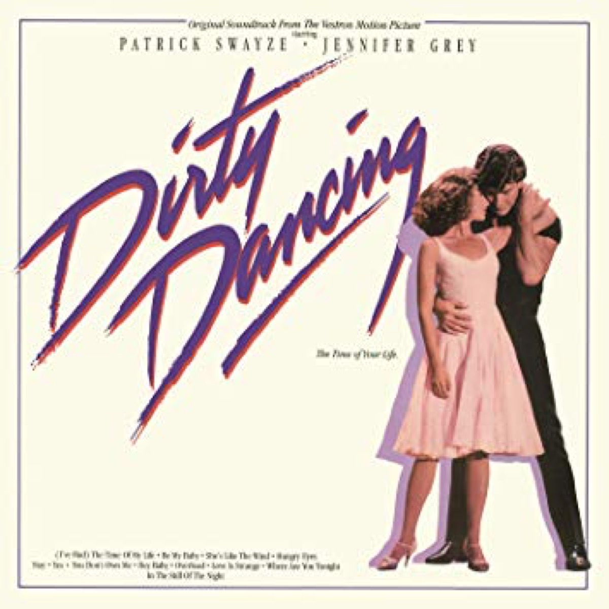 dirty dancing movie soundtrack album cover