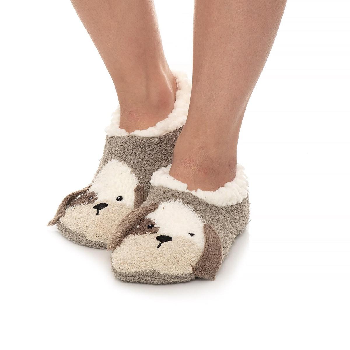 Dog slip-on slippers