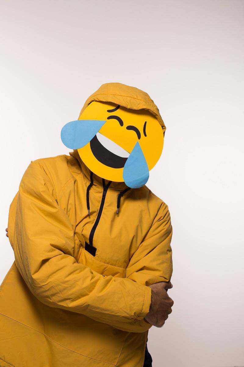 Emoji costume