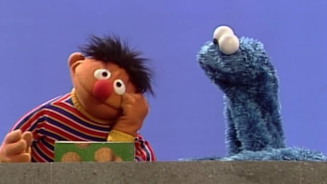 ernie and cookie monster