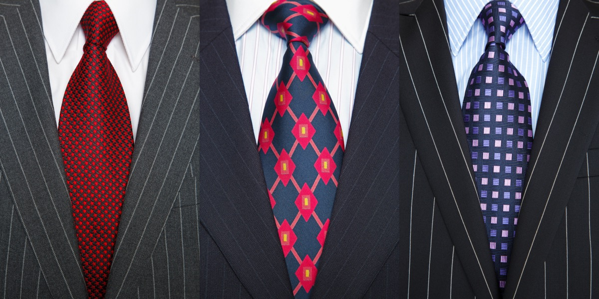 Men's Fashionable Ties Style Tips Over 40