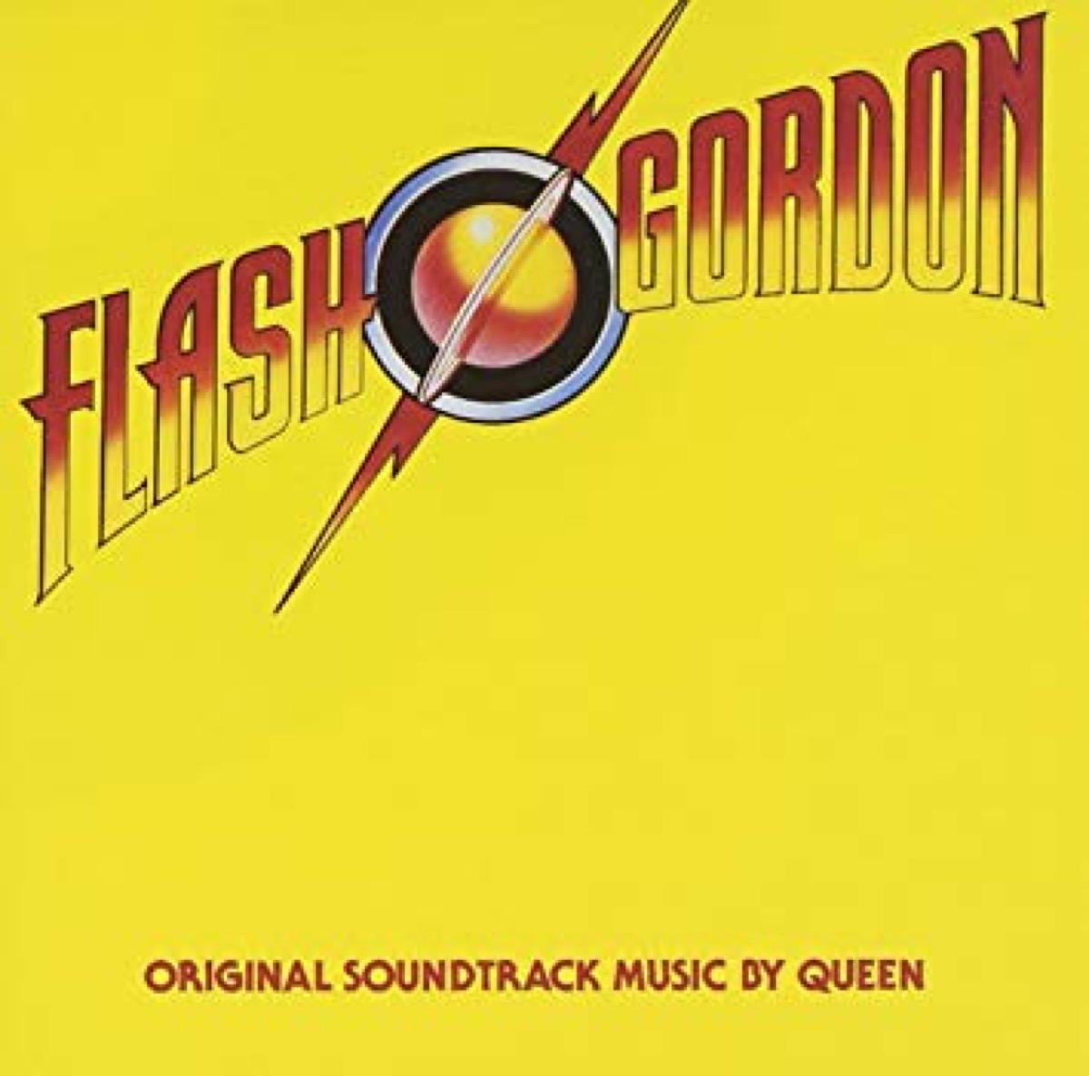 flash gordon movie soundtrack album cover