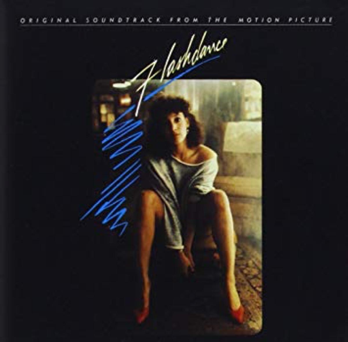 flashdance movie soundtrack album cover