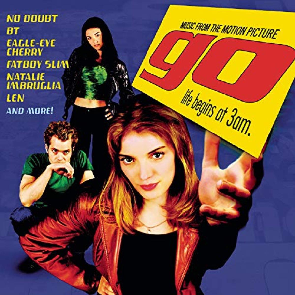 go movie soundtrack album cover